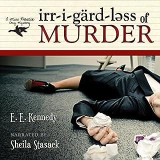 Irregardless of Murder audiobook cover art