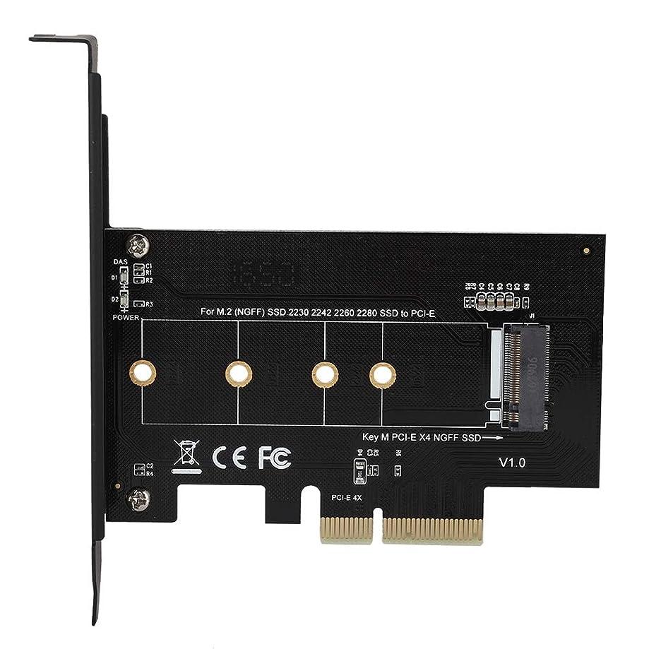 じゃがいも定刻乗算ASHATA M.2 - PCI-E3.0 X4 拡張カード アダプター コンバーター M キー M2 NGFF NVME SSD ハードドライブ用