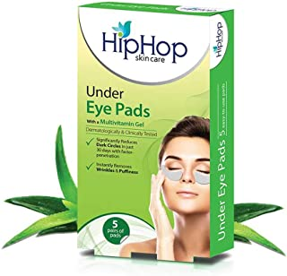HipHop Under Eye Pads with Nourishing Gel - 5 pads