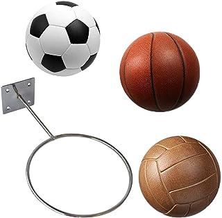 Argent LIOOBO 4 Supports muraux de Ballon de Sport de b/âti daffichage de PCS pour Le Basket-Ball Football Football Ballon de Volley-Ball Exercice Ballon de m/édecine