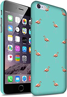 Stuff4® Phone Case/Cover/Skin/ip-3dswm/Cute Flamingo Cartoon Collection Oiseaux Exotiques/Vert Apple iPhone 6S+/Plus
