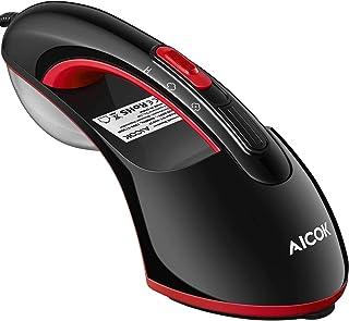 Defroisseur Vapeur Vertical, AICOK Fer à Repasser Horizontal 2 en 1, Defroisseur a Vapeur 1500W Portable, Réchauffage Rapi...