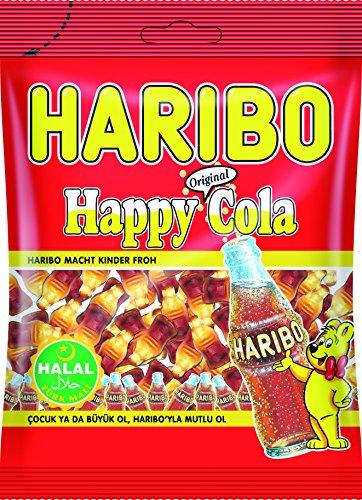 Happy Cola Haribo Helal Halal Gummibärchen Weingummi Fruchtgummi 6x100g