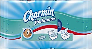 Charmin Freshmates Flushable Wipes 40 Count Refill Packs, Pack of 24 (960 Total Wipes)