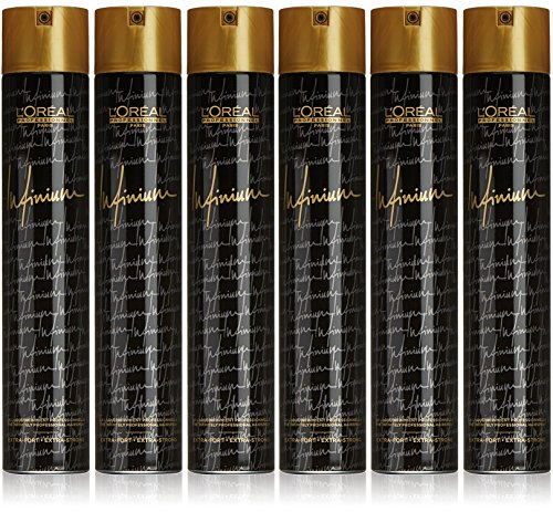 6 er Pack Loreal Professionnel Infinium Extra Strong 500 ml