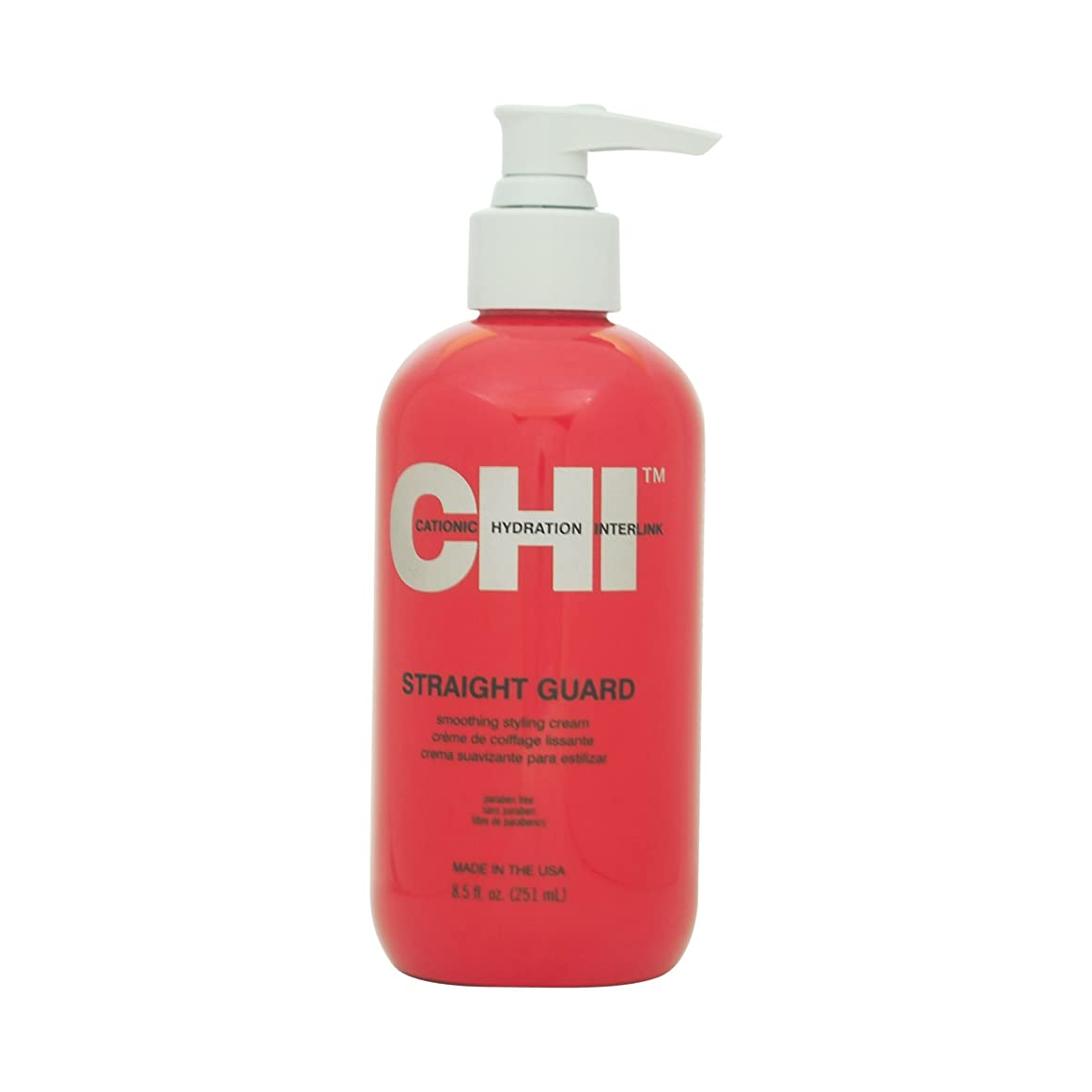 ハッチログ宣伝CHI Straight Guard Smoothing Styling Cream 250ml [並行輸入品]