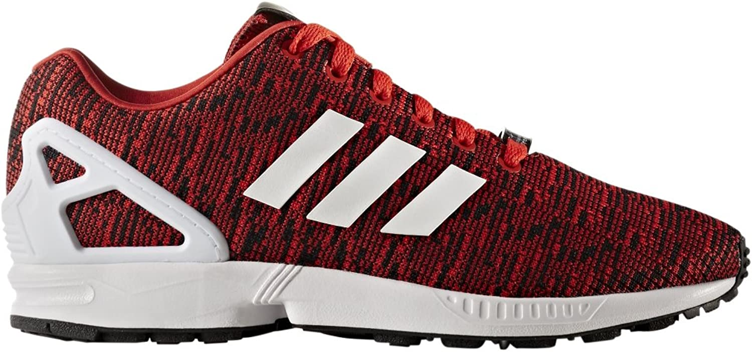 Adidas Originals Men's ZX Flux Graphic Red Core Black Footwear White 7.5 D US