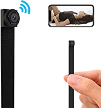 WiFi Spy Camera, 1080P HD Mini Hidden Camera Wireless Nanny Cam Home Security Covert Cameras with Motion Detection Remote Real-time Video (Black 1)