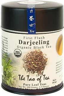 The Tao of Tea, First Flush Darjeeling Black Tea, Loose Leaf, 3.5 Ounce Tin
