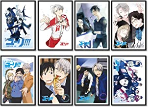 Yuri!! On Ice Anime Manga Wallscroll Poster Kunstdrucke Bider Drucke