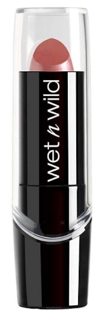争うインスタント複雑(3 Pack) WET N WILD Silk Finish Lipstick - Dark Pink Frost (並行輸入品)