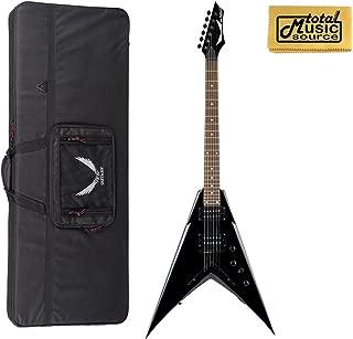 Dean Dave Mustaine V Classic Black Electric Guitar WITH CASE,VMNTX CBK CASE