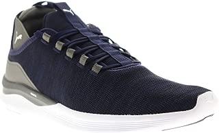 Mens Ignite Flash Daunt Evoknit Blue Athletic Cross Training Shoes 10.5