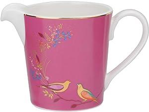 Portmeirion Home & Gifts Chelsea Cream Jug, Ceramic, Pink, 165 x 125 x 95 cm