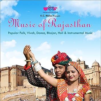 Music of Rajasthan (Popular Folk, Vivah, Dance, Bhajan, Instrumental Music)