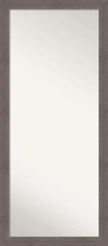 Amanti Art store Full Length Mirror Alta Grey Leng Max 64% OFF Brown