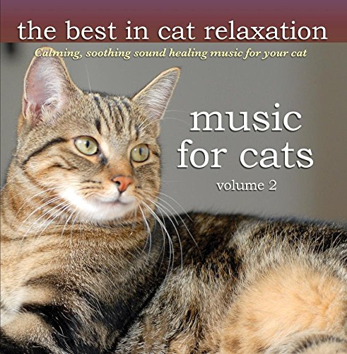 Music for Cats - Volume 2 - Calming soothing sound healing music that cats love