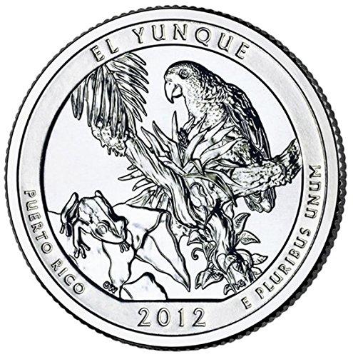 2012 D El Yunque National Park – D 40 Coin Bankroll Uncirculated