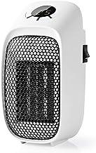 TronicXL - Mini calefactor eléctrico para enchufe, horno, cuarto de baño, estufa, estufa, estufa, estufa eléctrica, calentador de enchufes, calefactor de enchufe