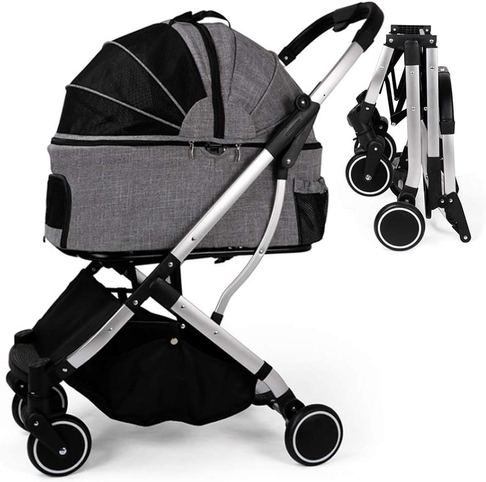 Cheap mail order specialty store Pet Stroller 4-Wheel Factory outlet Cat Dog Jogger