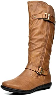 Women's Faux Fur-Lined Knee High Winter Boots
