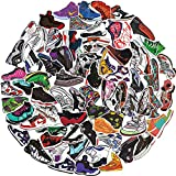 Basketball Shoes Stickers for AJ,Fashion Brand Sneakers Stickers for Laptop Skateboard Motorcycle Guitar Snowboard Bicycle Computer Phone 100Pcs Pack