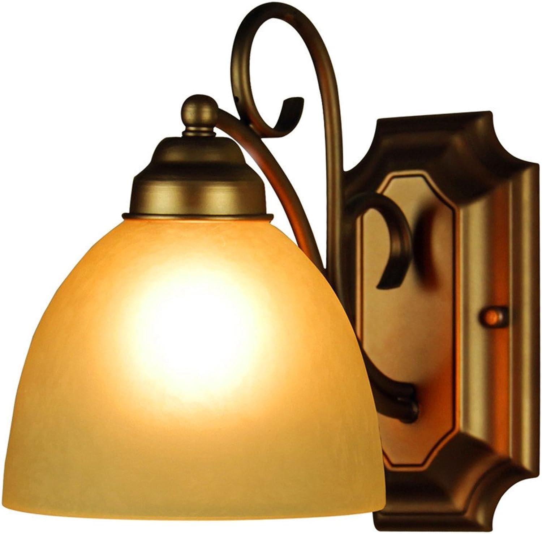 Modern LED Wandleuchte Warme kreative Wohnzimmer-Balkongang-Treppenstufen-Wandlampe des Schlafzimmers Vintage Retro Café Loft Bar Flurlampe, Wandlampe Upaus Aluminium für Flur Korridor Wohnzimmer.