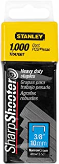Stanley Tools TRA706T 24 Pack 3/8in. Heavy Duty Staple 1,000/Box