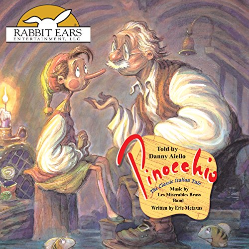 Pinocchio                   By:                                                                                                                                 Carlo Collodi,                                                                                        Eric Metaxas - adaptor                               Narrated by:                                                                                                                                 Danny Aiello                      Length: 28 mins     11 ratings     Overall 4.2