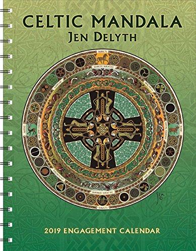 Celtic Mandala 2019 Engagement Datebook Calendar