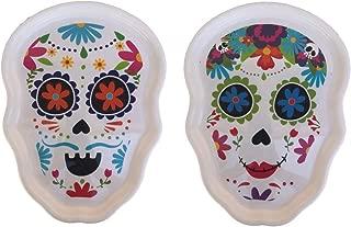 Halloween - Day of the Dead - Sugar Skull - Dia de los Muertos Serving Tray