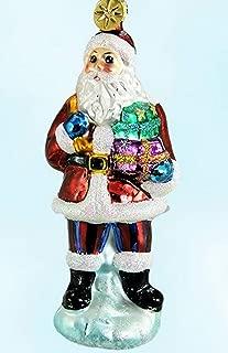 Christopher Radko 2000 Santa Joy Qvc Exclusive Glass Ornament 5.5