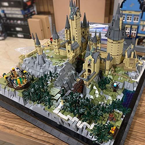 Moc 6862pcs+ 22004 Movie Streetview Conjuntos de modelo de castillo escolar conjuntos de modelo de construcción bloques de juguetes educativos para niños