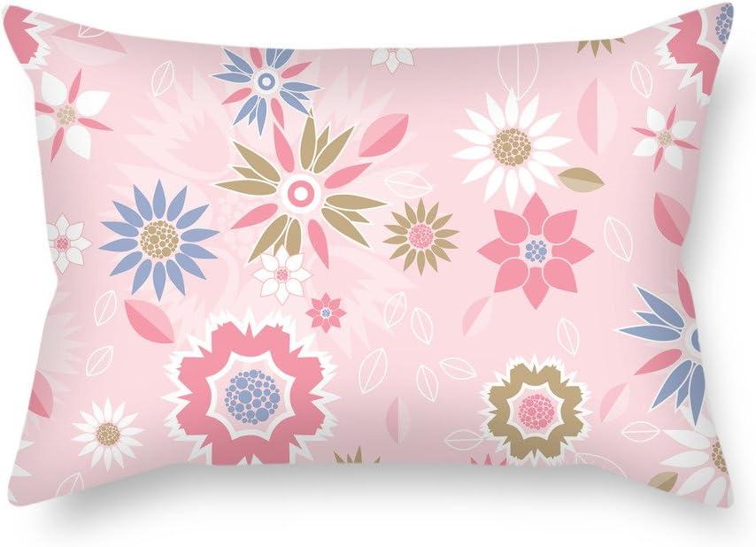 artistdecor Funda de almohada para silla de decoración familiar o de boda, dormitorio de 45 x 65 cm (dos caras)