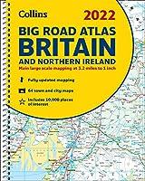 2022 Collins Big Road Atlas Britain and Northern Ireland