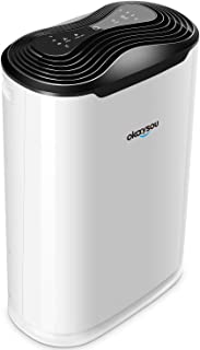 Okaysou 5-in-1 True HEPA Air Purifier for Pets, Smokers, Odors, Air Cleaner Filter Quiet in Bedroom Office, Eliminates Pet Hair, Smoke, Dust, Pollen, VOCs for Large Room, Timer, AirMax8L