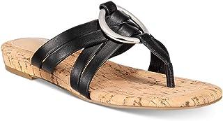 Alfani Womens carrle Fabric Open Toe Casual Slide Sandals