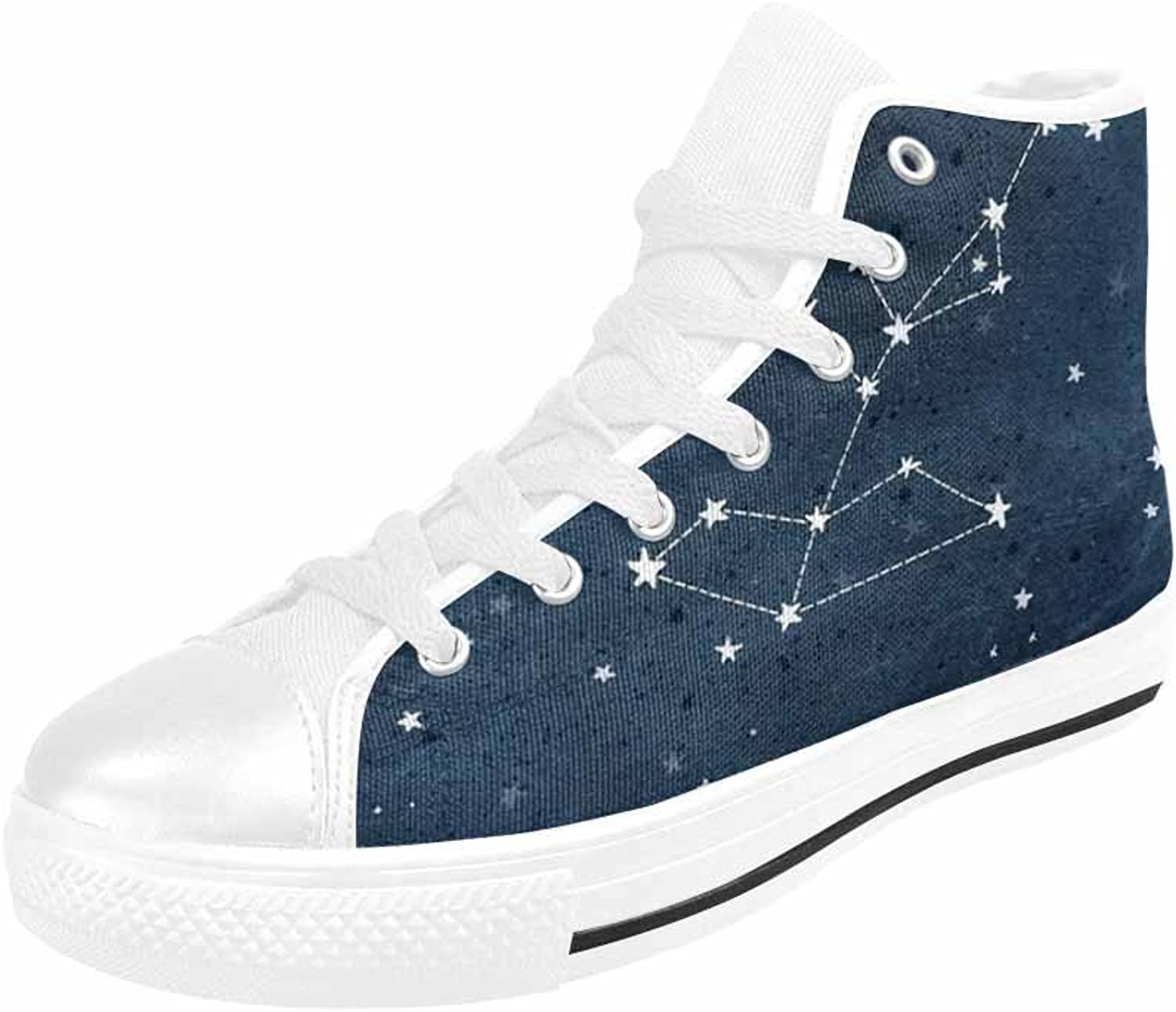 VIC Men's Casual High Top Canvas Season Sneaker Up Sports shoes