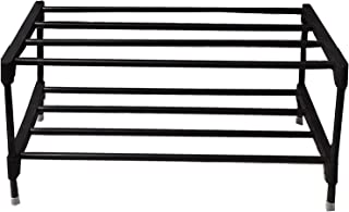 RMA Handicrafts Multipurpose Rod Rack Black (Standard)