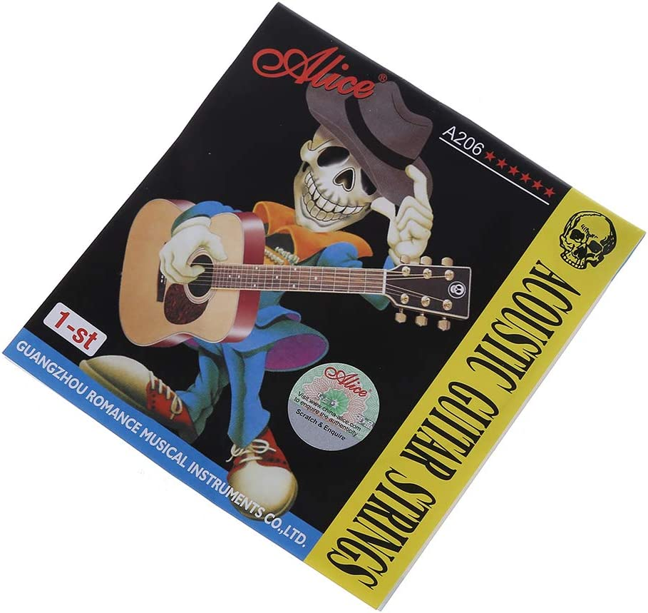 At the price of surprise XISAOK Stainless Steel Alice Acoustic E Max 87% OFF Guitar String 1st