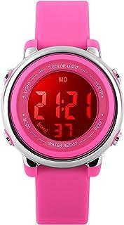 Kids Watch Sport Multi Function 50M Waterproof LED Alarm...