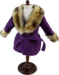 American Girl Julie's Winter Coat & Hat for 18-inch Dolls