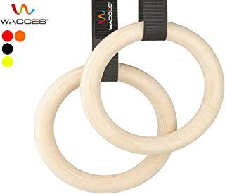 Exercise Fitness Gymnastic Rings with Heavy Duty Adjustable Strap
