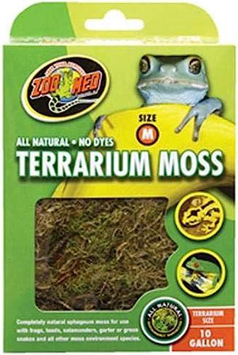 discount Zoo Med new arrival Terrarium Moss outlet online sale 10 Gallon sale