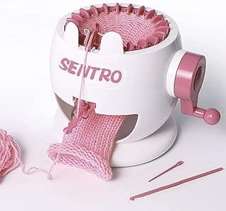 Sanmubo Children Knitting Woven Machine Braiding Tool Home DIY Loom Toy Knitting Machine Kids Knitting Kit Smart Weaver Weaving Loom Toy Smart Weaver Knitting Kit Machine for Kids
