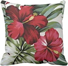 TheYaYaCafe® 24X24 inches Set of 3 Cushion Covers Garden Floral Flowers Printed Sofa Throw Pillows Multicolor