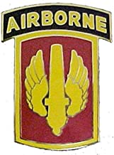18th Fires Brigade CSIB with Airborne Tab - Combat Service Identification Badge