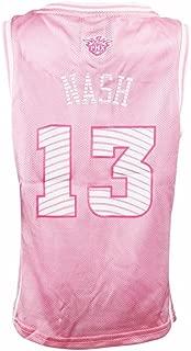 adidas Steve Nash Phoenix Suns NBA Pink Official Fan Fashion Basketball Jersey for Girls