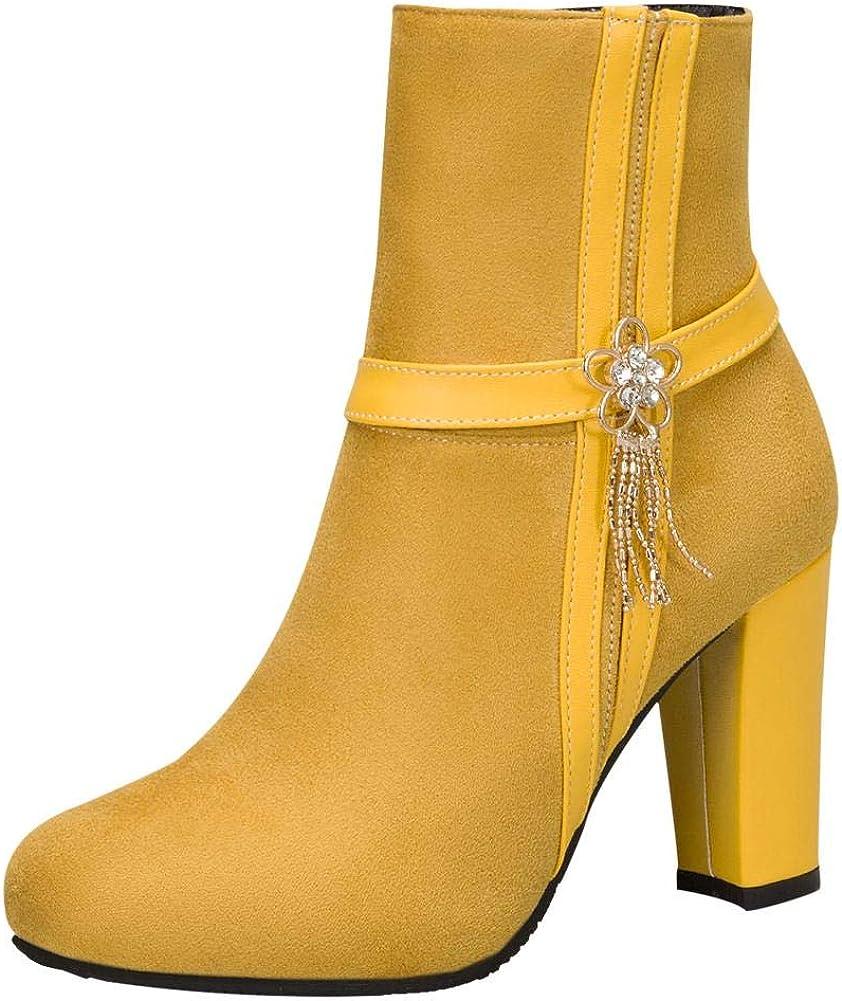 ZOWMUW Women's Spring new work Fashion Chic Dress High Heel Max 57% OFF Boots