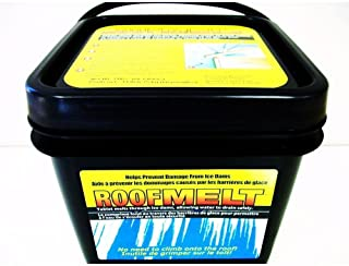 Nessagro Roofmelt Ice Melt Tablet Prevent Roof Damage 14 lb. bucket 60 tablets .#GH45843 3468-T34562FD654186